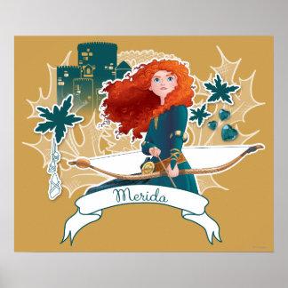 Merida - Brave Princess Poster