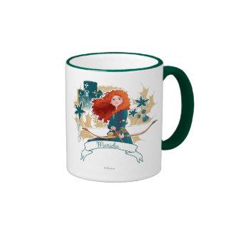 Merida - Brave Princess Ringer Coffee Mug