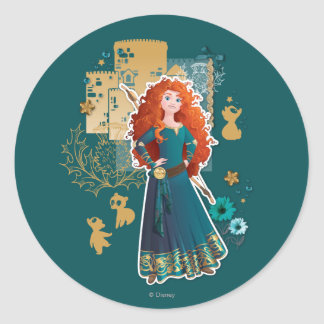 Merida - Confidence Makes Me Brave Classic Round Sticker