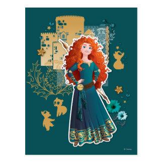 Merida - Confidence Makes Me Brave Postcards