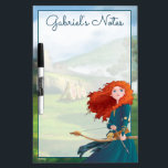 "Merida | Let&#39;s Do This Dry-Erase Board<br><div class=""desc"">Disney Princesses are empowered heroines who dream,  create and celebrate magical adventures! They help inspire young girls to see how brave,  strong and fearless they are. These princesses focus on their friendships and embracing adventure.</div>"