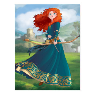 Merida | Let's Do This Postcard