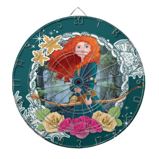 Merida - My Fate is in my Own Hands Dartboard