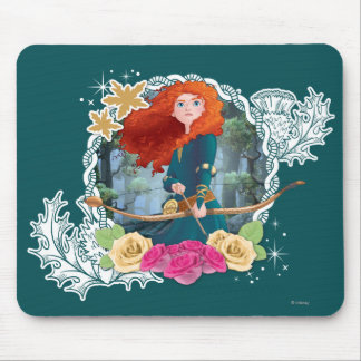 Merida - My Fate is in my Own Hands Mouse Pad