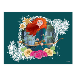 Merida - My Fate is in my Own Hands Postcard