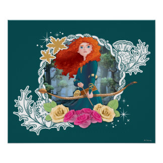 Merida - My Fate is in my Own Hands Poster