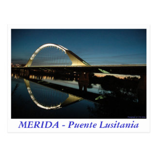 MERIDA - Puente Lusitania Postales