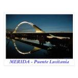MERIDA - Puente Lusitania Tarjeta Postal