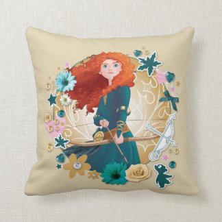 Merida - Strong Throw Pillow