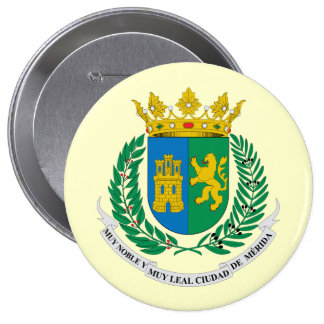 Merida Yucatan, Mexico Pinback Button
