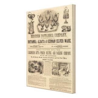 Meriden Britannia Company Impresión En Lona