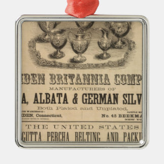 Meriden Britannia Company Metal Ornament