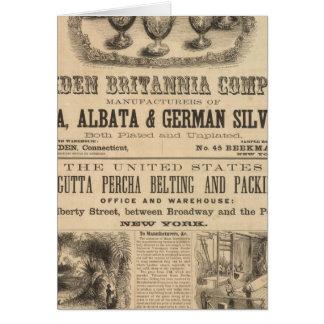 Meriden Britannia Company Tarjeta De Felicitación