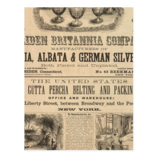 Meriden Britannia Company Tarjetas Postales