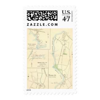 Meriden north postage stamp