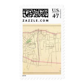 Meriden south postage stamp