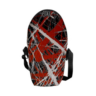 MERIDIAN (an abstract art design) ~ Courier Bag