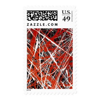 MERIDIAN (an abstract art design) ~.jpg Postage