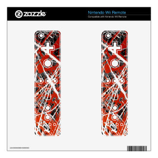 MERIDIAN (an abstract art design) ~ Wii Remote Decal