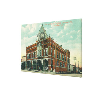 Meridian and Stewart Street Intersection View Canvas Print