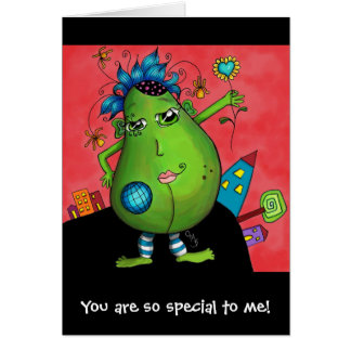 Meridian Avocado, You are so special to me! Card