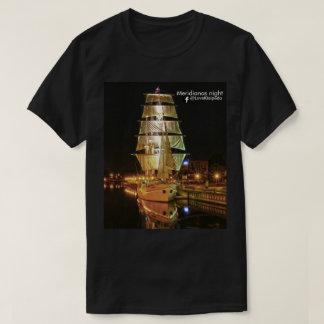 Meridianas night T-shirt by @LoveKlaipeda  (Memel)
