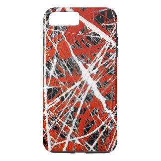 ~ MERIDIANO (de un diseño del arte abstracto) Funda iPhone 7 Plus