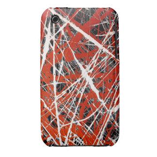 ~ MERIDIANO (de un diseño del arte abstracto) Funda Para iPhone 3 De Case-Mate