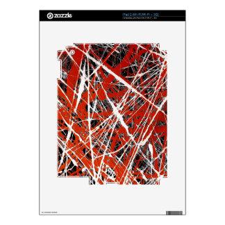 ~ MERIDIANO (de un diseño del arte abstracto) iPad 2 Skins