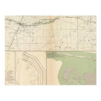 Meridiano de Vicksburg, Srta. Postales