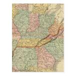 Meridional, Estados Occidentales Tarjetas Postales