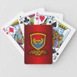 Meridional por la gracia de dios (rojo y azul) baraja cartas de poker
