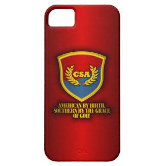 Meridional por la gracia de dios (rojo y azul) funda para iPhone SE/5/5s