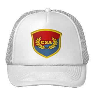 Meridional por la gracia de dios (rojo y azul) gorras de camionero