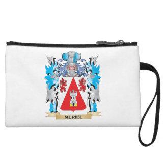 Meriel Coat of Arms - Family Crest Wristlet Purses