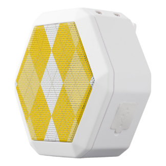 Meringue Argyle Boombot White Bluetooth Speaker