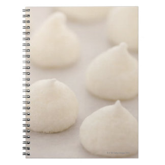 Meringue desssert notebooks