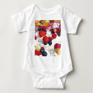 Meringues Party Food Baby Bodysuit