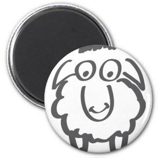 merino sheep magnet