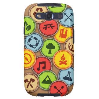 Merit Badge case Samsung Galaxy SIII Cover