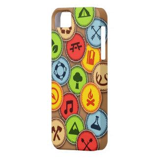 Merit Badges case iPhone 5 Covers