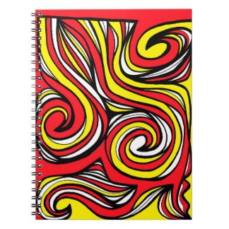 Merit Effervescent Perfect Adorable Spiral Notebook
