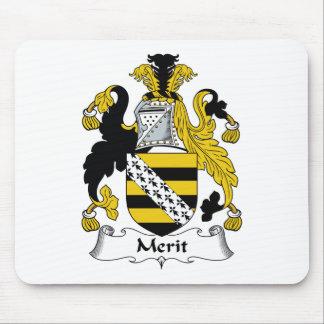Merit Family Crest Mouse Pad