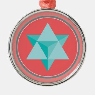 MerKaBa Metal Ornament