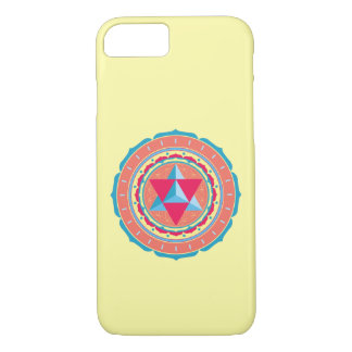 Merkaba on Flower of Life iPhone 8/7 Case