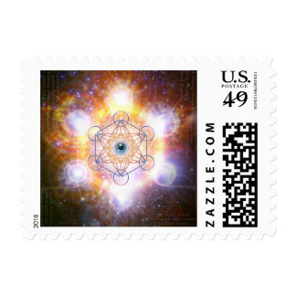 Merkaba- Protective energy of the Universe Postage Stamp