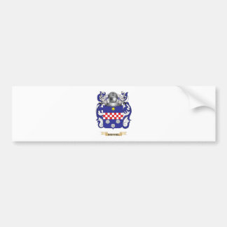 Merkel Coat of Arms (Family Crest) Car Bumper Sticker