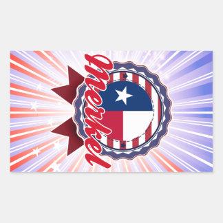 Merkel, TX Rectangular Sticker