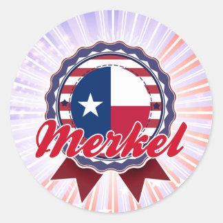 Merkel, TX Classic Round Sticker