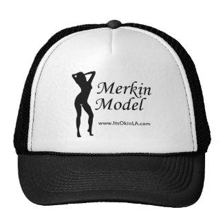 Merkin Model Trucker Hat